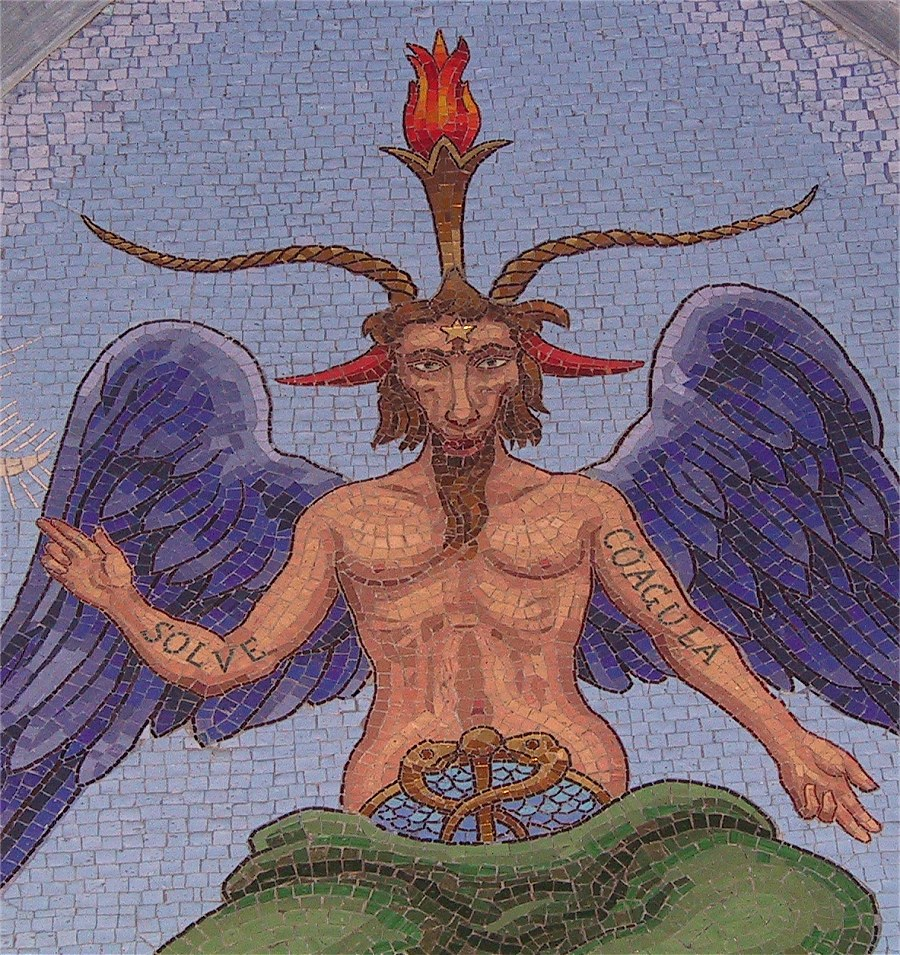 Arcane 15, le diable sous forme de bouc humanisé